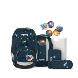 Ergobag Pack Schulranzen KoBärnikus Glow 6-teiliges Set Limited Edition