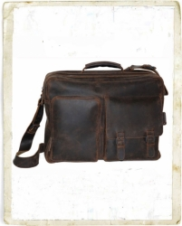 aunts and uncles Josh Overnighter with laptop case dark brown
