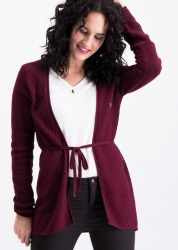 Blutsgeschwister light hearted envelope cardy stick bordeaux sunset