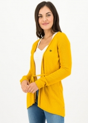Blutsgeschwister Cardigan light hearted envelope cardy golden