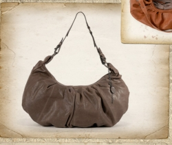 aunts and uncles Lisa Schultertasche mudd grey