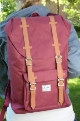 Herschel Little America M Rucksack wine Medium Size