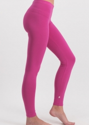 Blutsgeschwister logo leggings back to pink