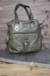 aunts and uncles Mrs. Mango Pie olive grey Schultertasche L