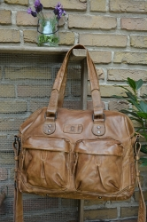 aunts and uncles Maple Candy honey Schultertasche XL
