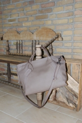 Oakwood Shopper Ledertasche Marker yemen grau