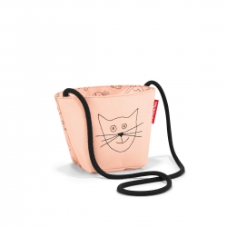 Reisenthel minibag kids cats and dogs rosa