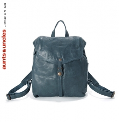 aunts and uncles Mint Pea Rucksack faded Denim