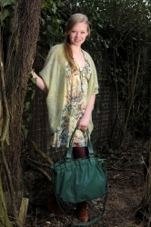 aunts and uncles Olivia Shopper sea green