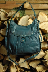 aunts and uncles Peanut Butter dusk blue Shoulder Bag L