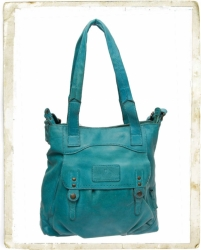 aunts and uncles Peppermint Shopper Handtasche L aqua