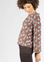 Blutsgeschwister Bluse chorus of lovers blouse petite flower puree