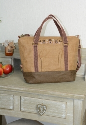 Blutsgeschwister polarlight handbag sandy soil Shopper