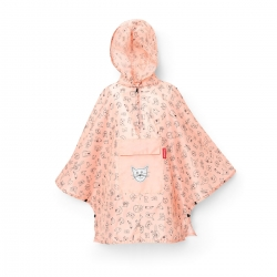 reisenthel kids mini maxi poncho cats and dogs rosa Regencape