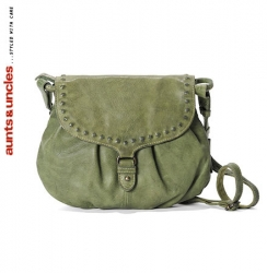 aunts and uncles Popcorn II Handtasche L calla green
