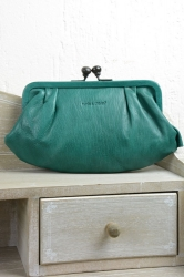 aunts and uncles Rose Bügelbörse emerald green Clutch