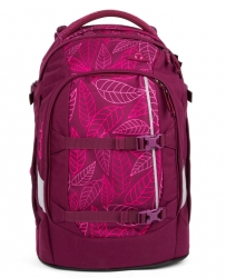 Satch Pack Rucksack Purple Leaves
