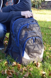 Satch Air Rucksack Black Triad