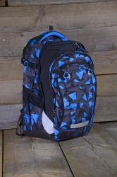 Satch Match Rucksack Blue Triangle