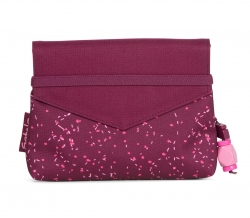 Satch Beauty Wallet Clutch Kosmetiktasche Klatsch Berry Bash