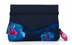 Satch Beauty Wallet Clutch Kosmetiktasche Klatsch Waikiki Blue