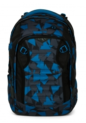 Satch Match Rucksack Blue Triangle Facelift