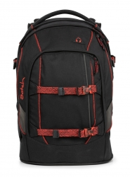 Satch Pack Rucksack Black Volcano