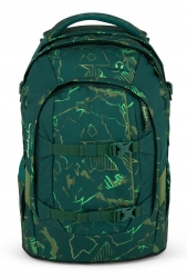 Satch Pack Green Compass Rucksack