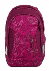 Satch Sleek Rucksack Purple Leaves