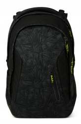 Satch Sleek Black Bermuda Rucksack