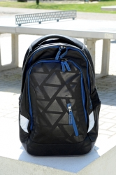 Satch Sleek Rucksack Black Triad