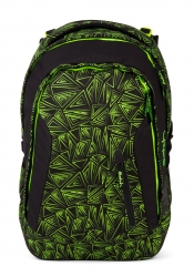 Satch Sleek Green Bermuda Rucksack
