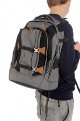 Satch Pack Stay Grey Skandi-Style Rucksack