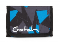 Satch Blue Triangle Wallet Geldbörse