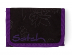 Satch Purple Hibiscus Wallet Geldbörse