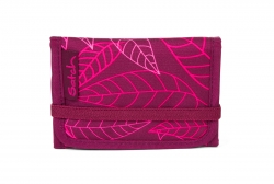 Satch Wallet Geldbörse Purple Leaves