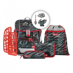 Step by Step 2IN1 Plus Schulranzen-Set Fire Dragon 6-teilig Modell 2020