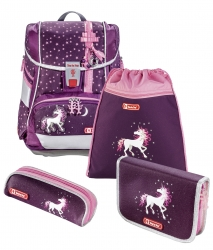 Step by Step 2IN1 Schulranzen-Set Unicorn 4-teilig