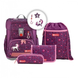 Step by Step Cloud Schulranzen-Set Dreamy Unicorn 5-teilig