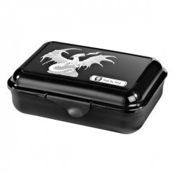 Step by Step Lunchbox Brotdose Fire Dragon