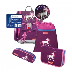 Step by Step Touch 2 Flash Schulranzen-Set Dreamy Unicorn 4-teilig