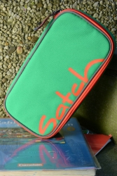 Satch Schlamperbox Green Steel