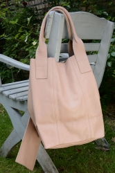 Oakwood Smaller 1 pink Tasche Ledertasche Shopping-Bag