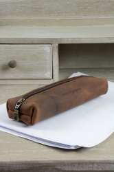 ruitertassen Classic pen roll ranger brown small