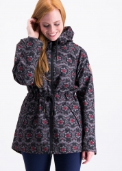 Blutsgeschwister Jacke heart in the storm jacket lady love