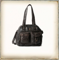 aunts and uncles Strawberry Fudge aubergine Shoulder Bag M