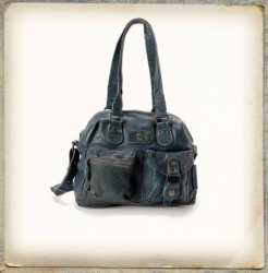 aunts and uncles Strawberry Fudge dusk blue Shoulder Bag M