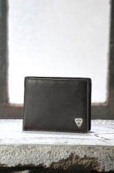 Strellson Premium Billfold H4 Harrison dark brown Scheintasche