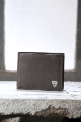Strellson Premium Billfold H8 Harrison dark brown Scheintasche
