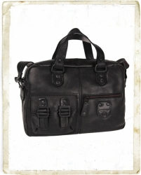 aunts uncles Mr Stroke Business-Bag M (mit Laptopfach) black